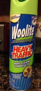 This stuff is great: It comes out in a stream of foam so I could easily run it along the grout lines.