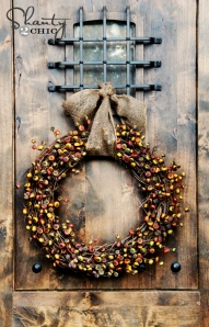 Wreath Tutorial from Shanty 2 Chic